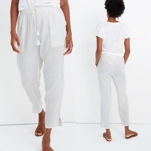NWT Madewell Beach Cover-Up Track Trousers 0755